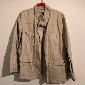 J. Crew Khaki Downtown Field Jacket